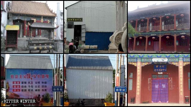 90+ Folk Religion Temples Destroyed in Henan's Linzhou City