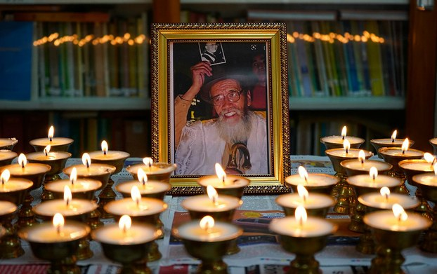 A shrine in Dharamsala, India, honors former Tibetan political prisoner Takna Jigme Sangpo, dead at 91