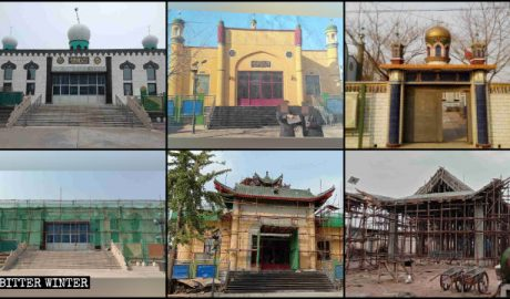 Multiple mosques were sinicized in Tangshan city.