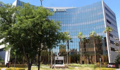 Zoom headquarters in San Jose, California