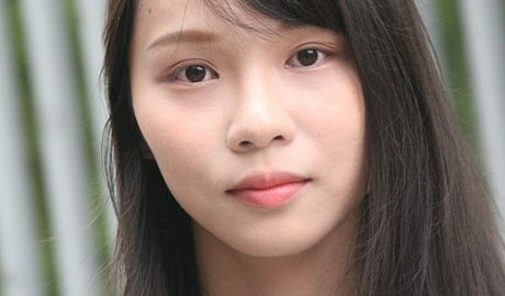Agnes Chow on Tim Mei Avenue