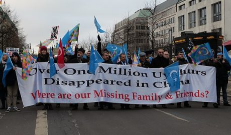 Demonstration for the rights of the Uyghurs in Berlin (1)